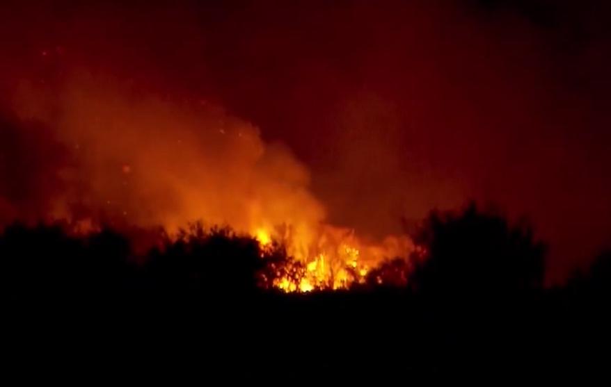 Big Bend Wildfire