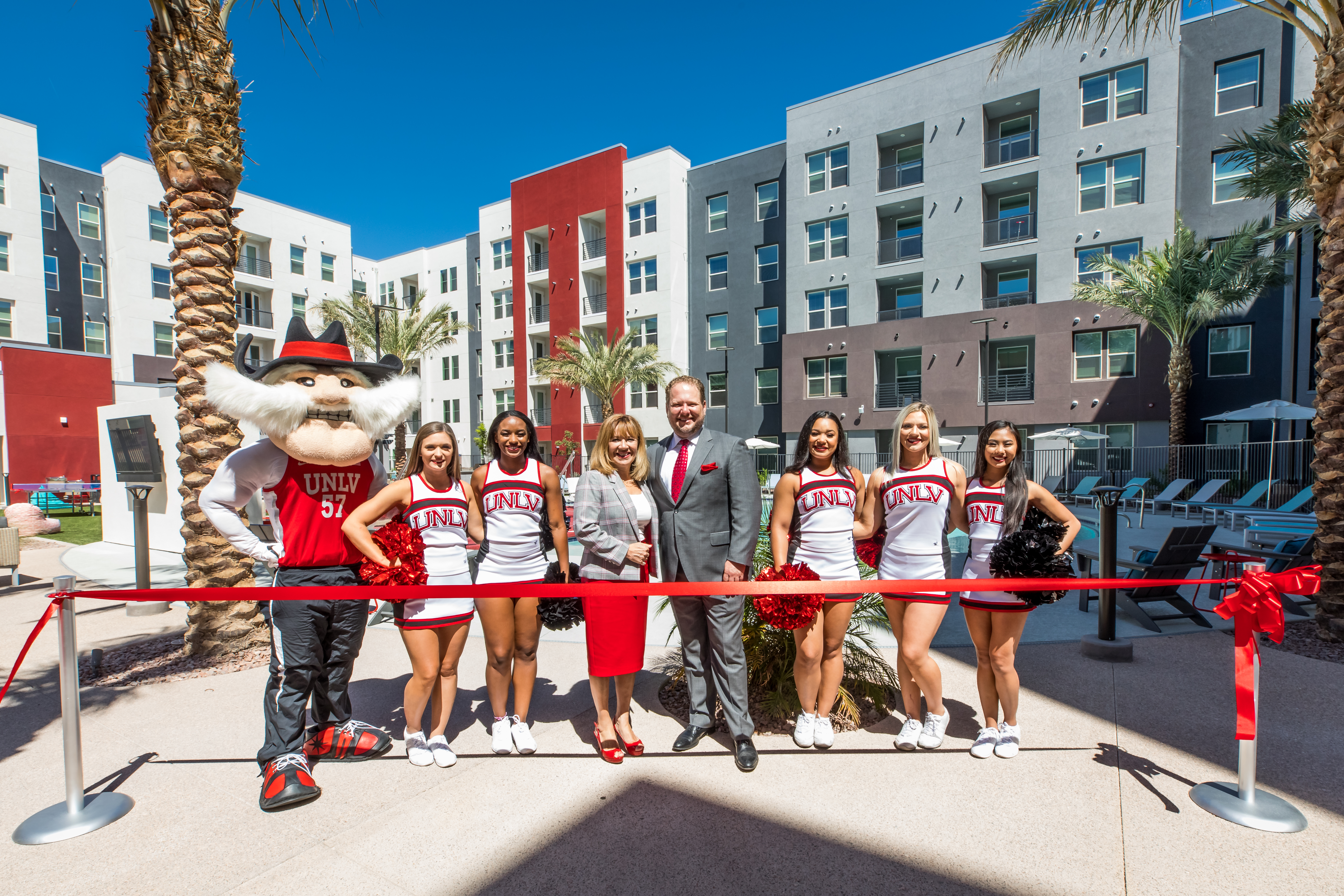 The Degree, new luxury campus apartments at UNLV