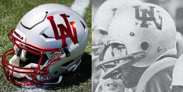 UNLV head football coach Tony Sanchez talks upcoming season, new helmets,  Allegiant Stadium