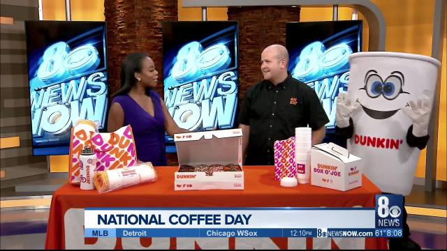 Grab a cup of Joe at Dunkin' — it's National Coffee Day!