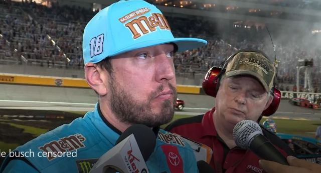 Kyle Busch interview following South Point 400 (warning – language)