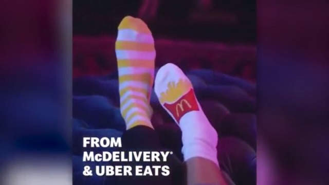 """McDonald's giving away """"McSwag"""" through Uber Eats"""