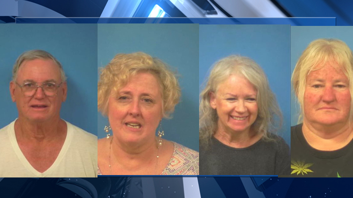4 people arrested for elderly abuse and exploitation in Nye County