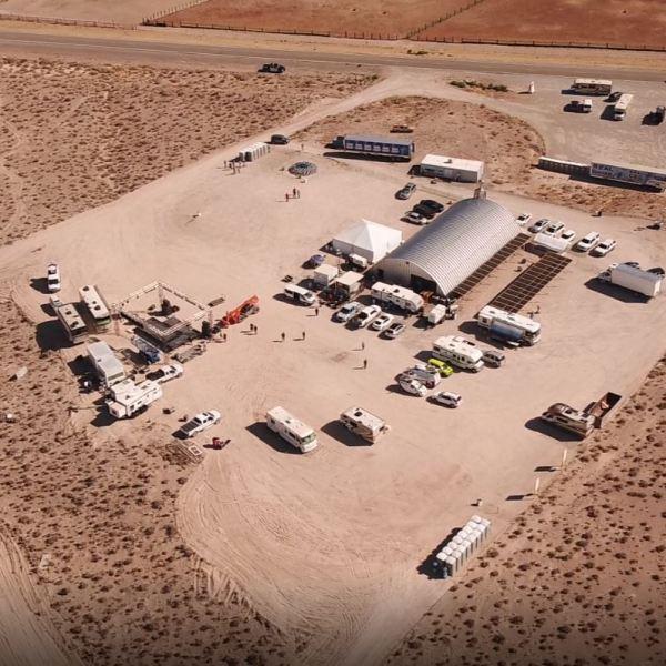 Area 51 Basecamp set up