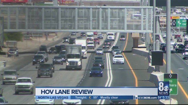HOV lane revisions may come sooner than expected