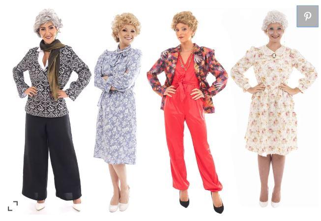 Target's Golden Girls' costumes