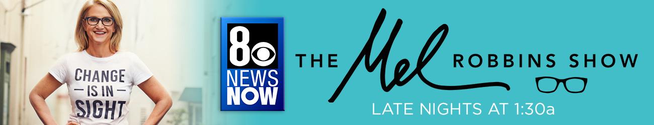 Mel Robbins show on KLAS
