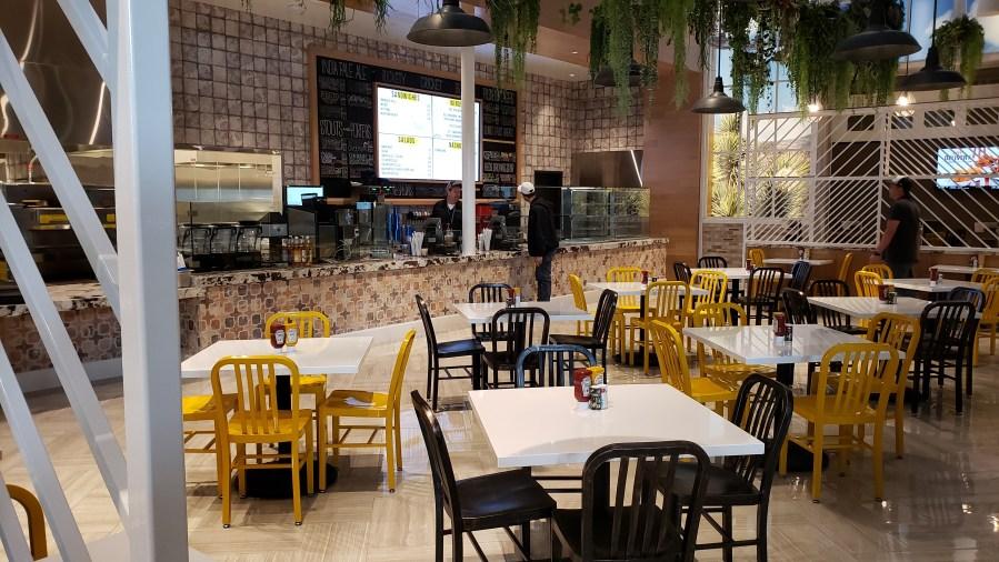 Planet 13 dispensary opens 24/7 restaurant and café