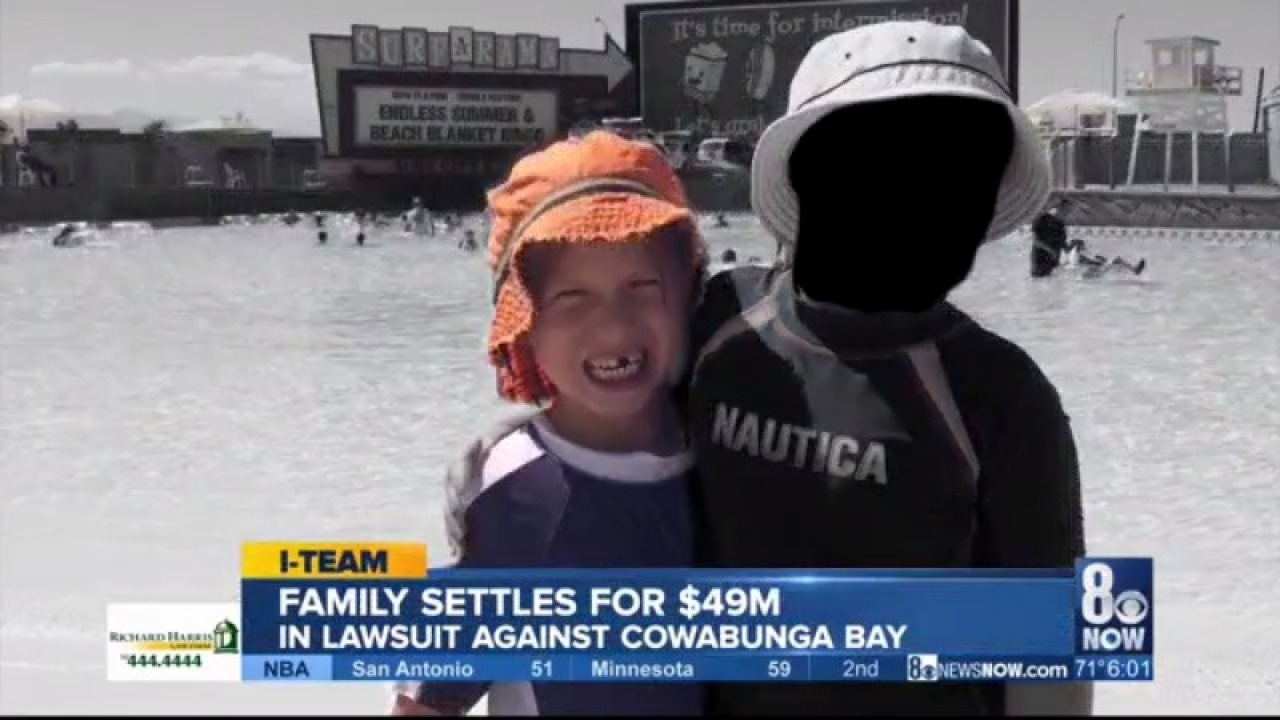 I-Team: Massive settlement reached in family's lawsuit against Cowabunga Bay water park