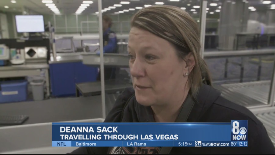 The TSA is bracing for a record number of people at airport security checkpoints around the country this Thanksgiving.