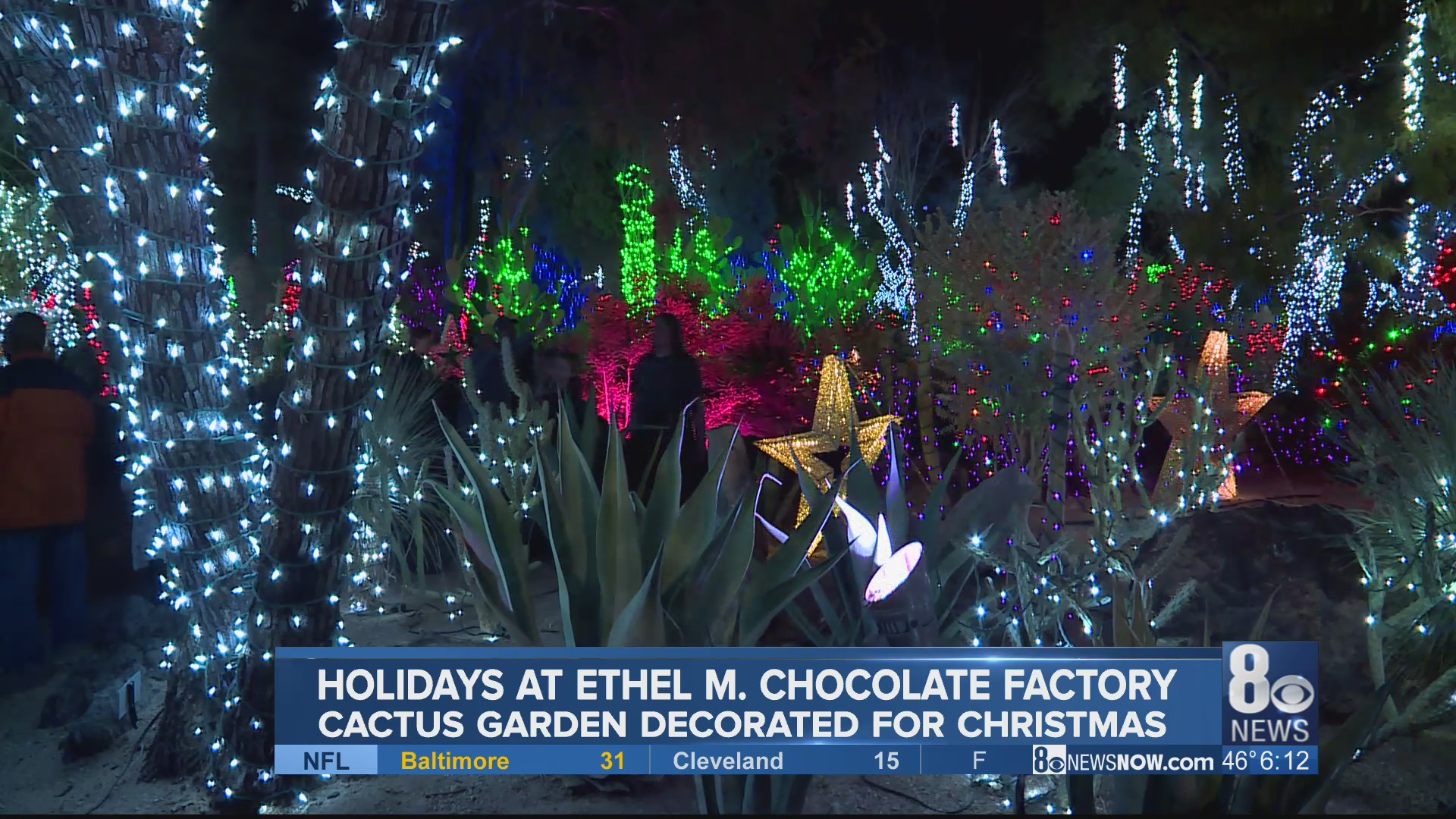 Ethel M Chocolate Factory Lights Up For The Holidays Klas