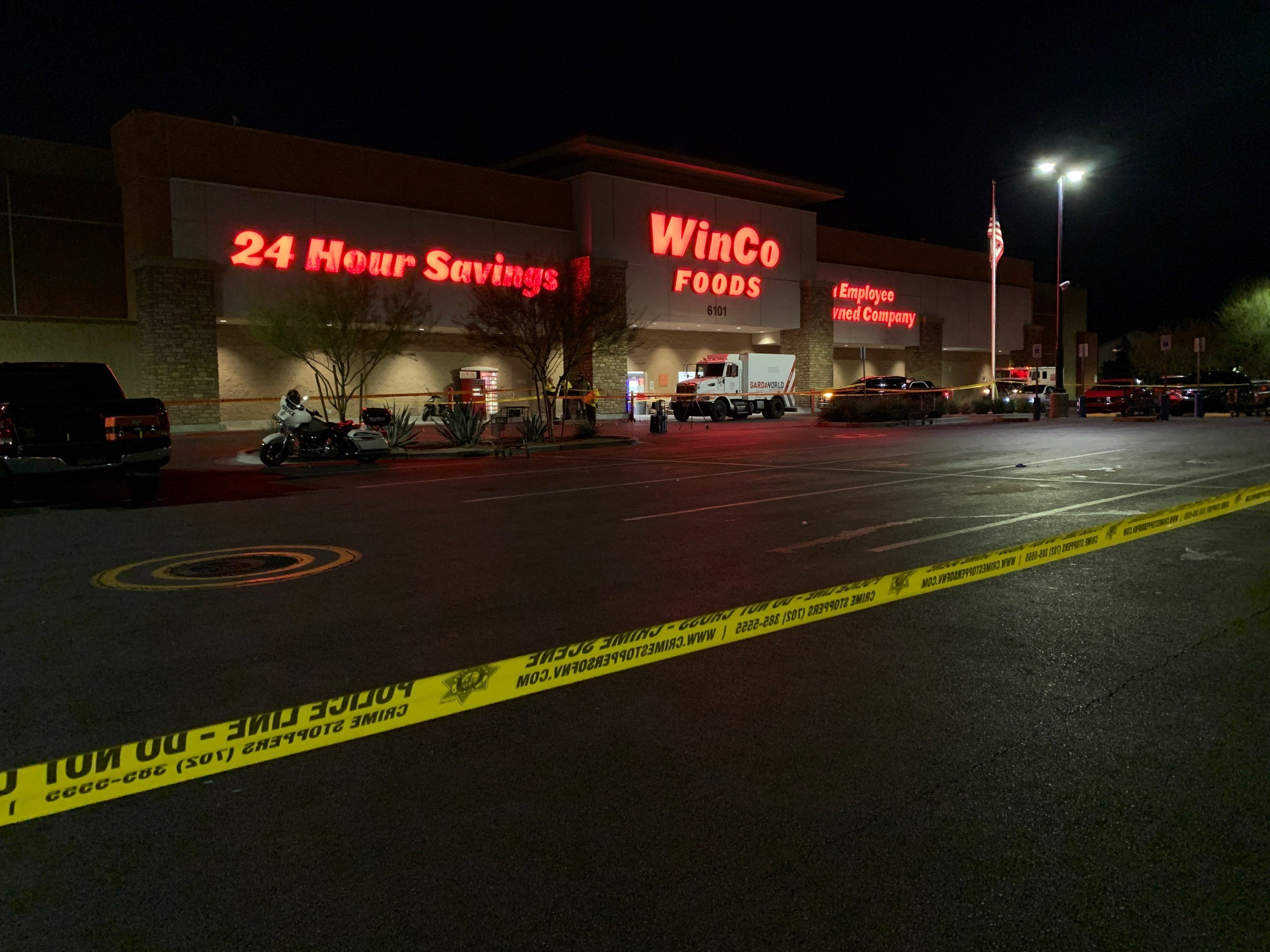 Image result for Elderly man in motorized cart killed by armored vehicle in grocery store parking lot