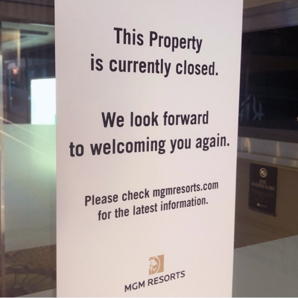MGM closed