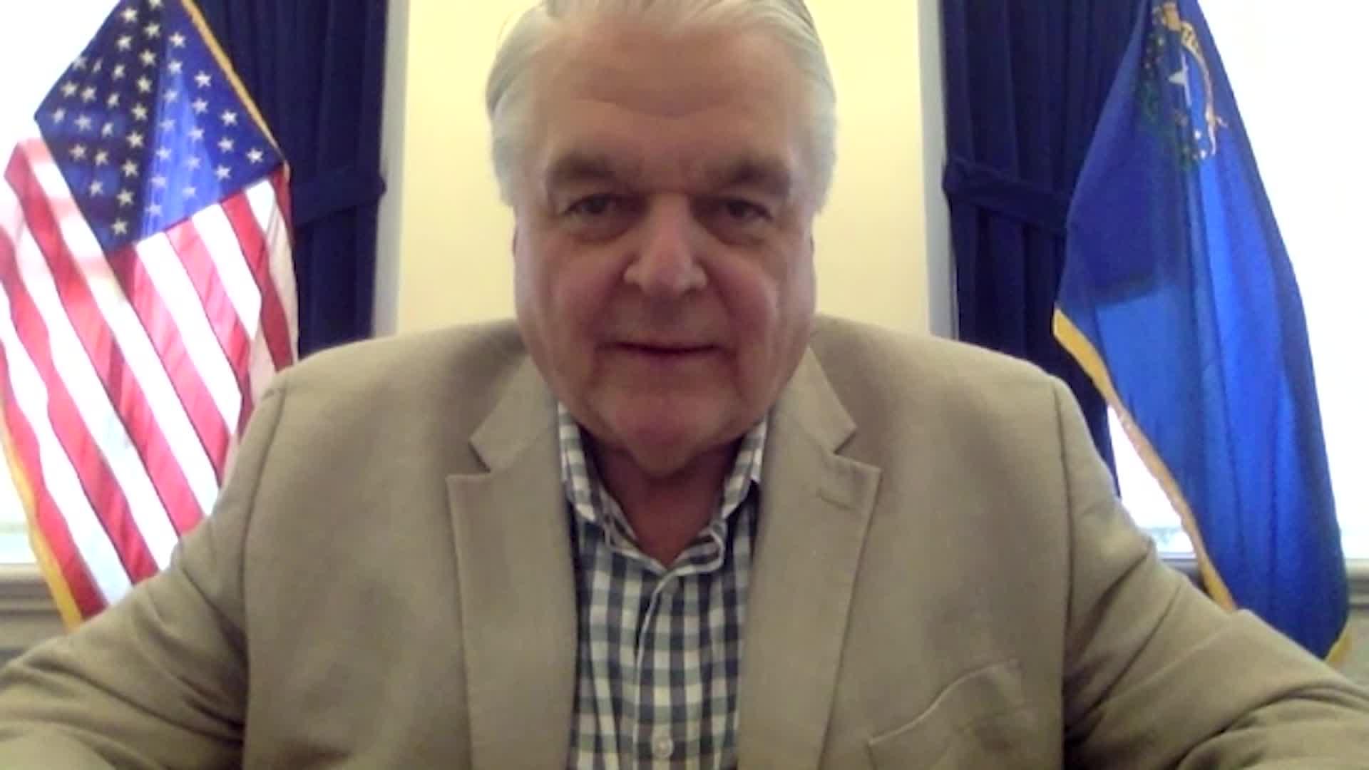 Gov. Steve Sisolak