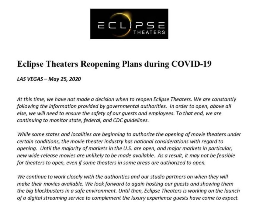 Will Movie Theaters Bounce Back Industry Expert Shares Outlook As Local Cinemas Stay Closed Klas