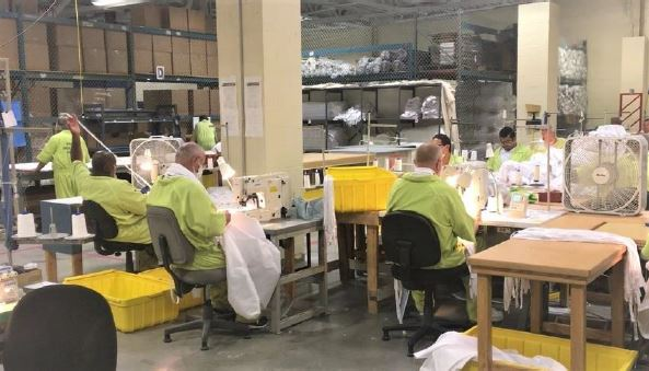 Lovelock PPE manufacturing