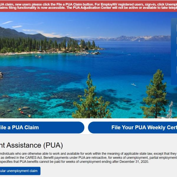 PUA claims site