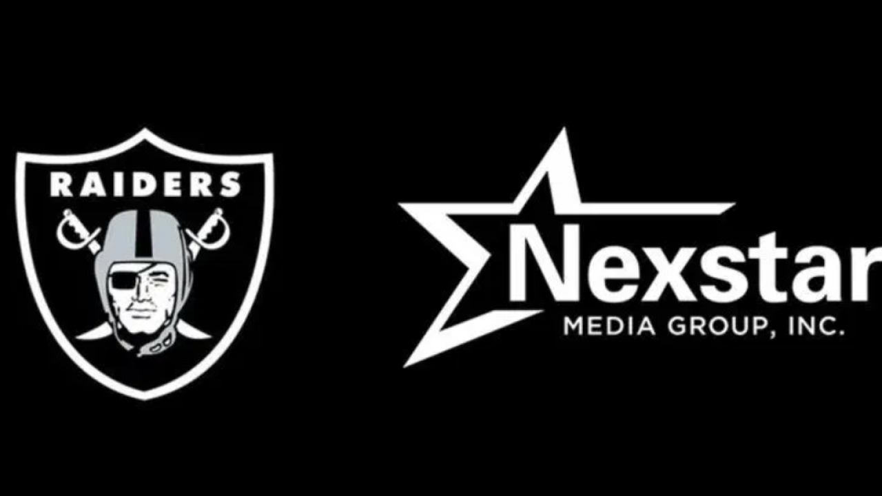 KLAS-TV named 'A Proud Broadcast Partner' of the Raiders, will air the most Raiders' games
