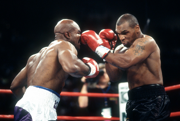 Evander Holyfield And Mike Tyson Working Out Is A Rematch Next Klas