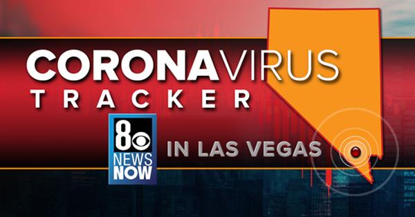 tracking corona in Las Vegas