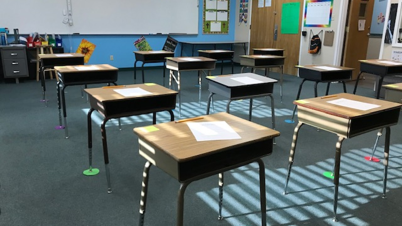 Some private schools reopen, welcome students back to classrooms