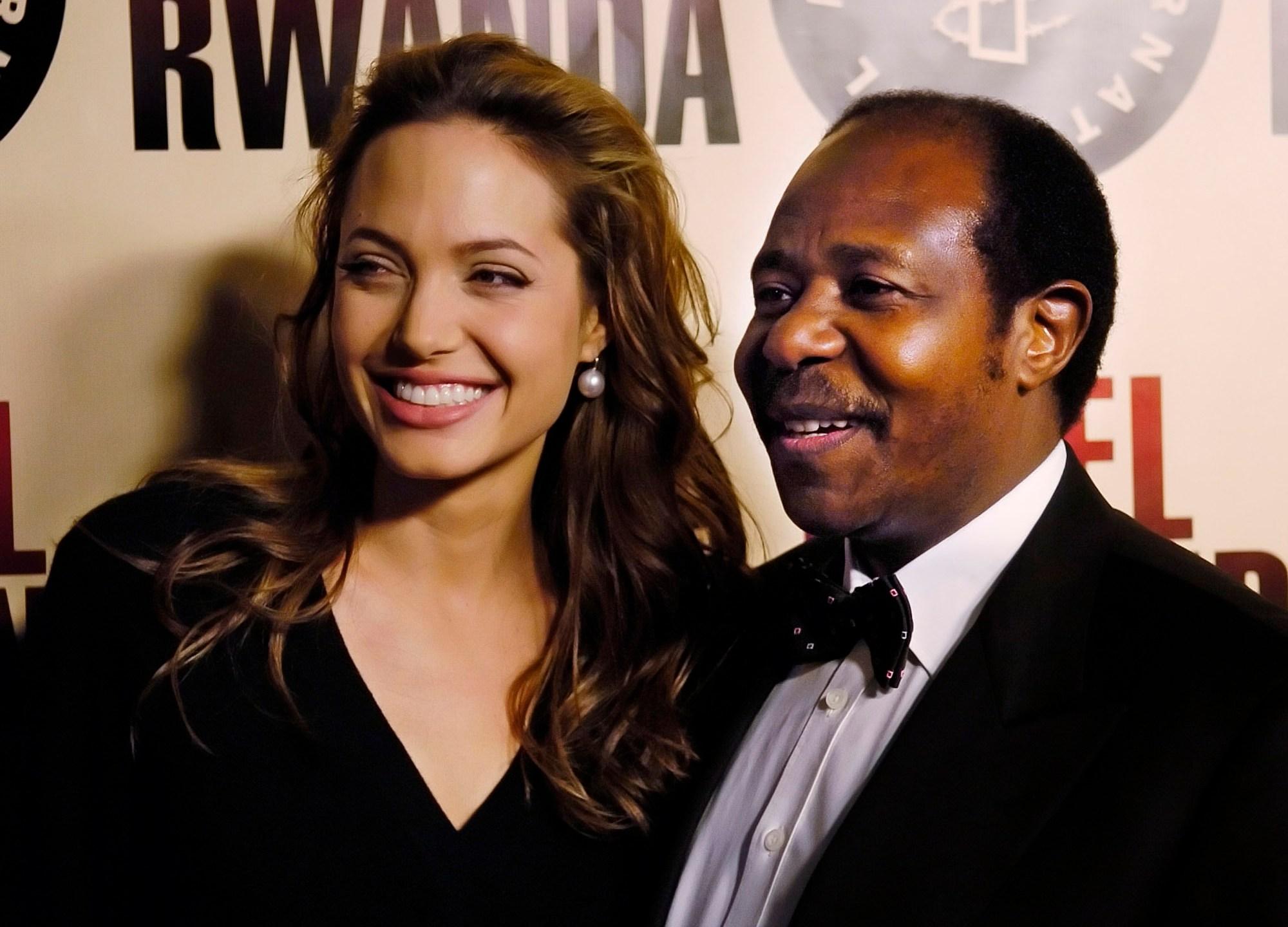 Paul Rusesabagina, Angelina Jolie, JOLIE RUSESABAGINA
