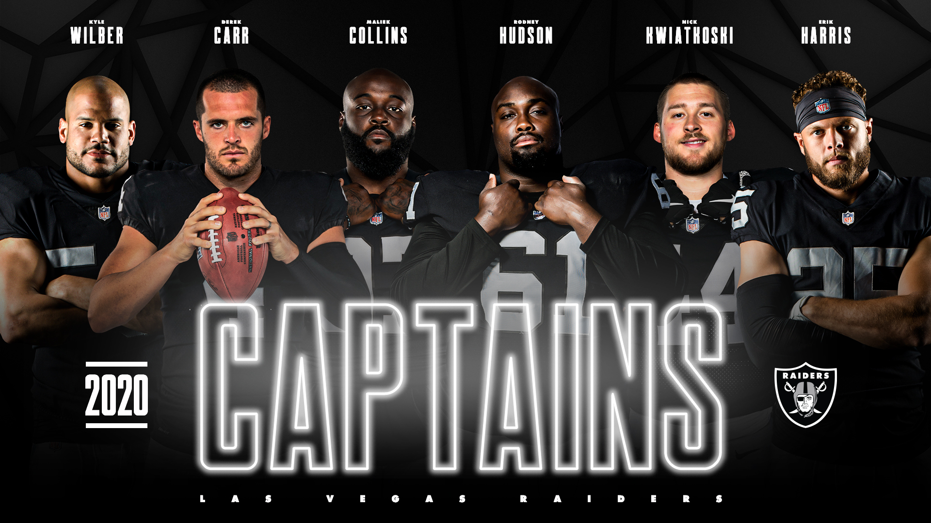 Las Vegas Raiders Announce Team Captains For 2020 Season Klas