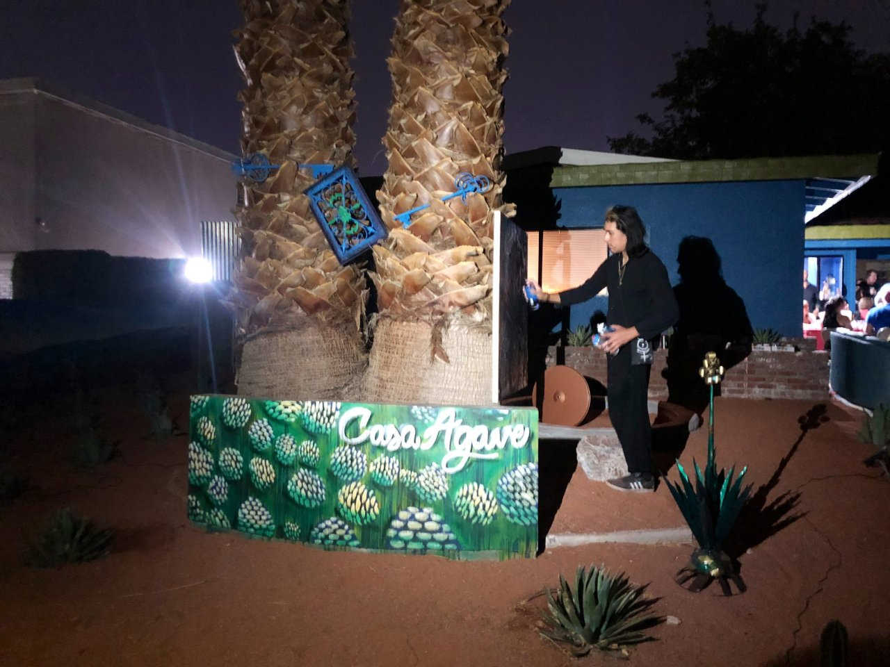 Las Vegas man transforms yard to celebrate, educate people about Mexican Independence Day