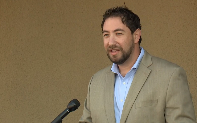 Clark County Commissioner Michael Naft announces extension of grant program for small businesses.