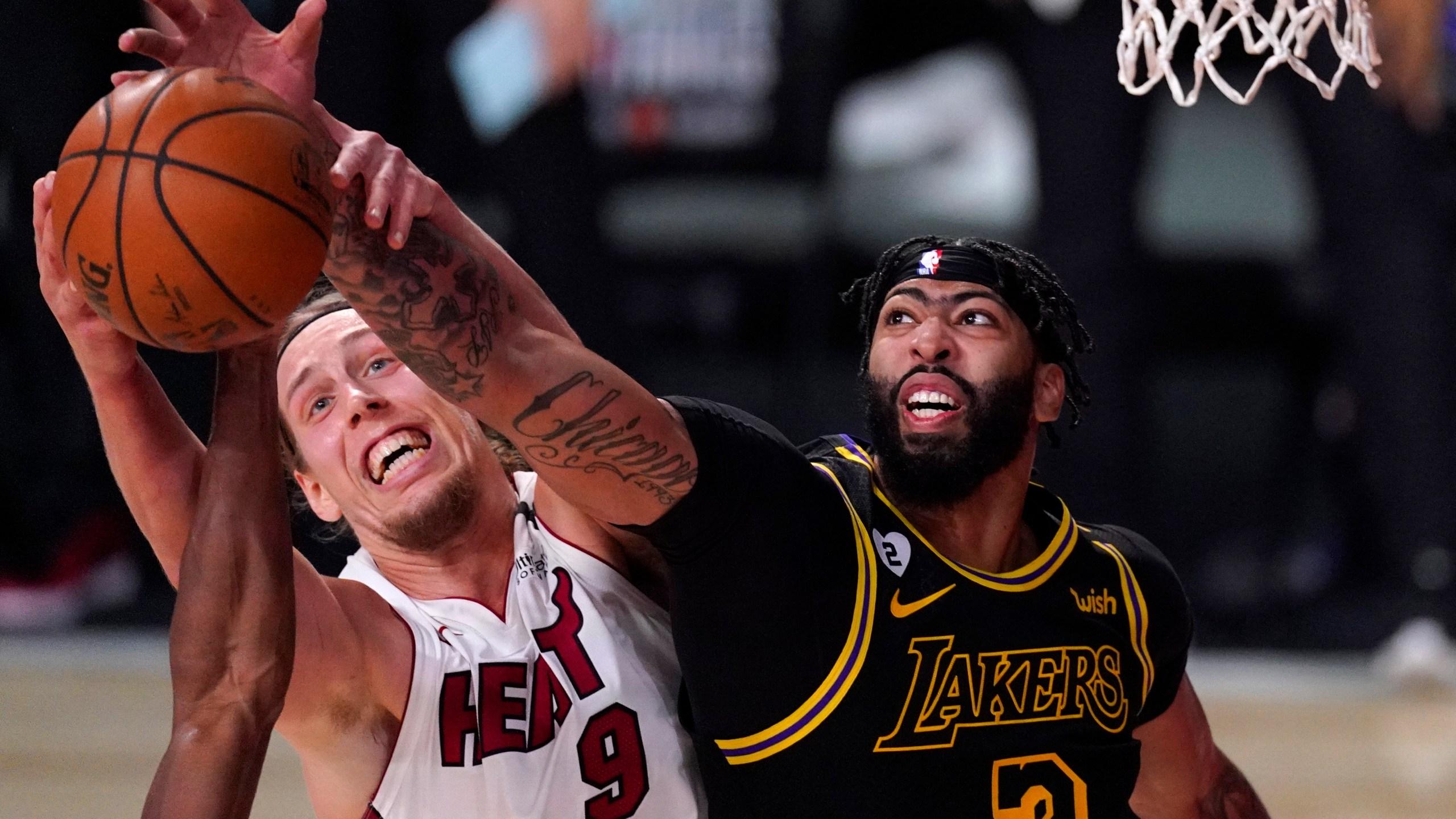 Halfway Home Lakers Top Heat 124 114 For 2 0 Finals Lead Klas
