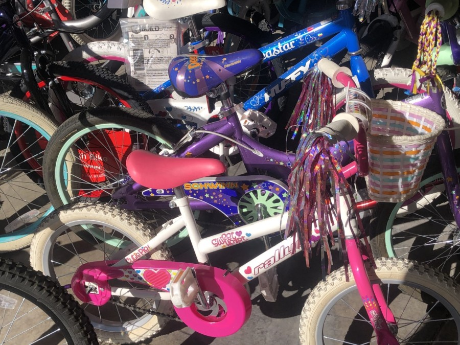 Creator of Bob's Bikes continues to spread joy by fixing and