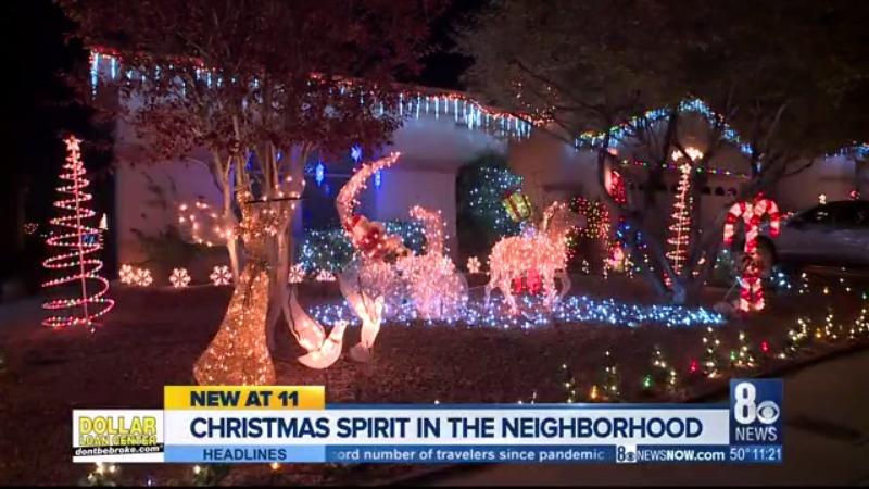 Henderson man decorates neighborhood for Christmas | KLAS