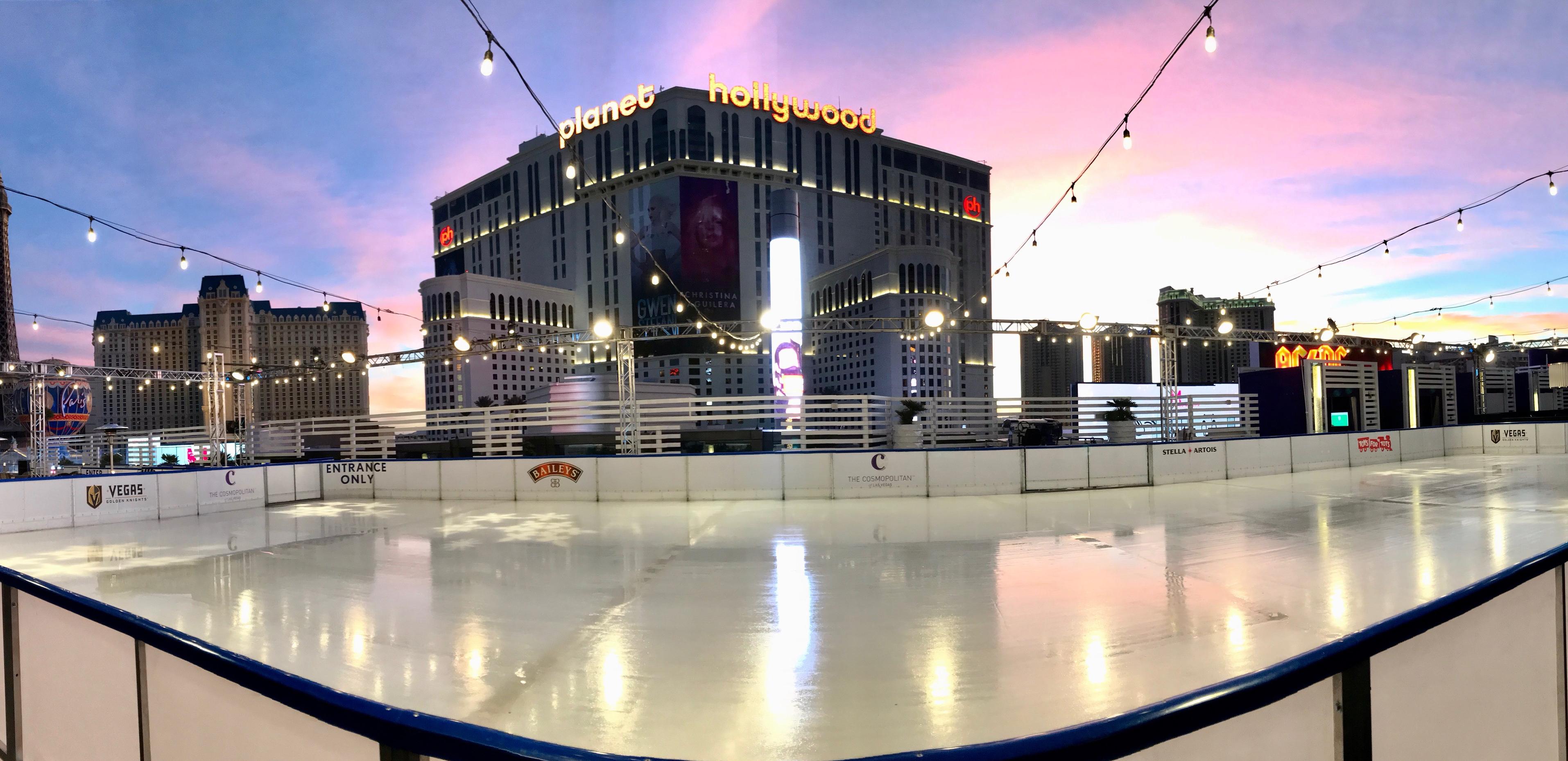 Ice Skating Anyone Holiday Tradition Returns To Las Vegas Strip Klas