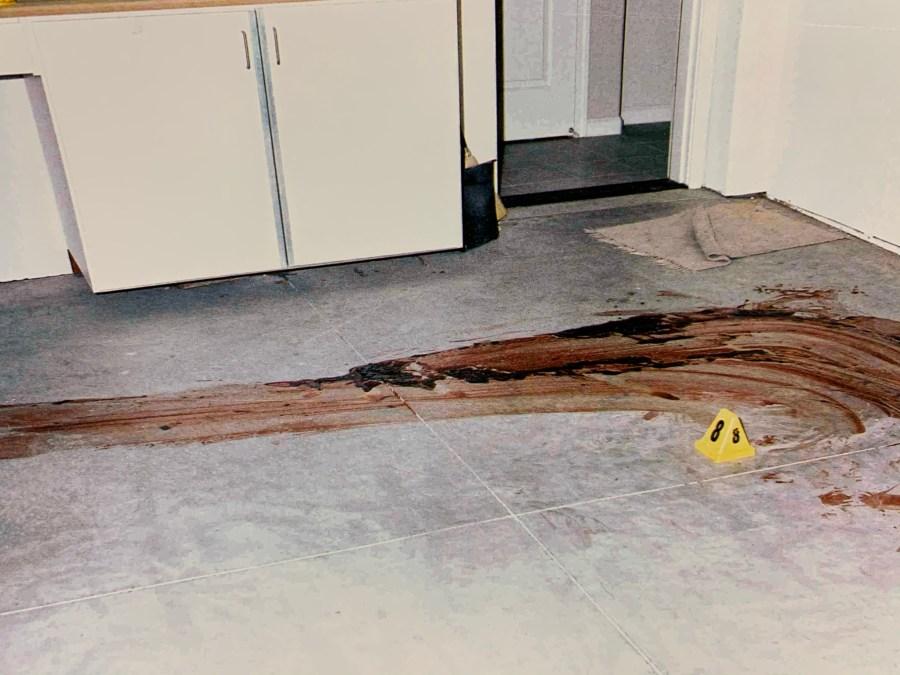 Darren Mack crime scene