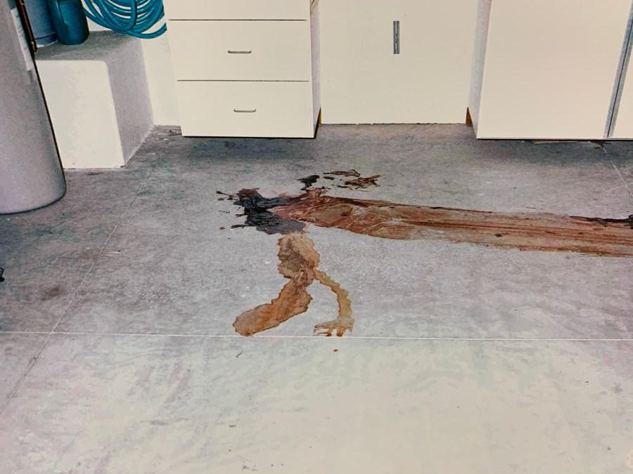 Mack crime scene