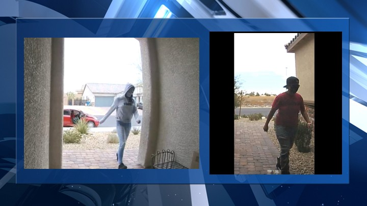 Metro Police ask public's help in identifying southeast valley porch pirates
