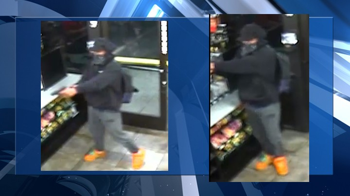 Metro Police search for suspect in armed robbery of east Las Vegas business