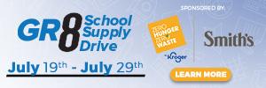 gr8 school supply drive