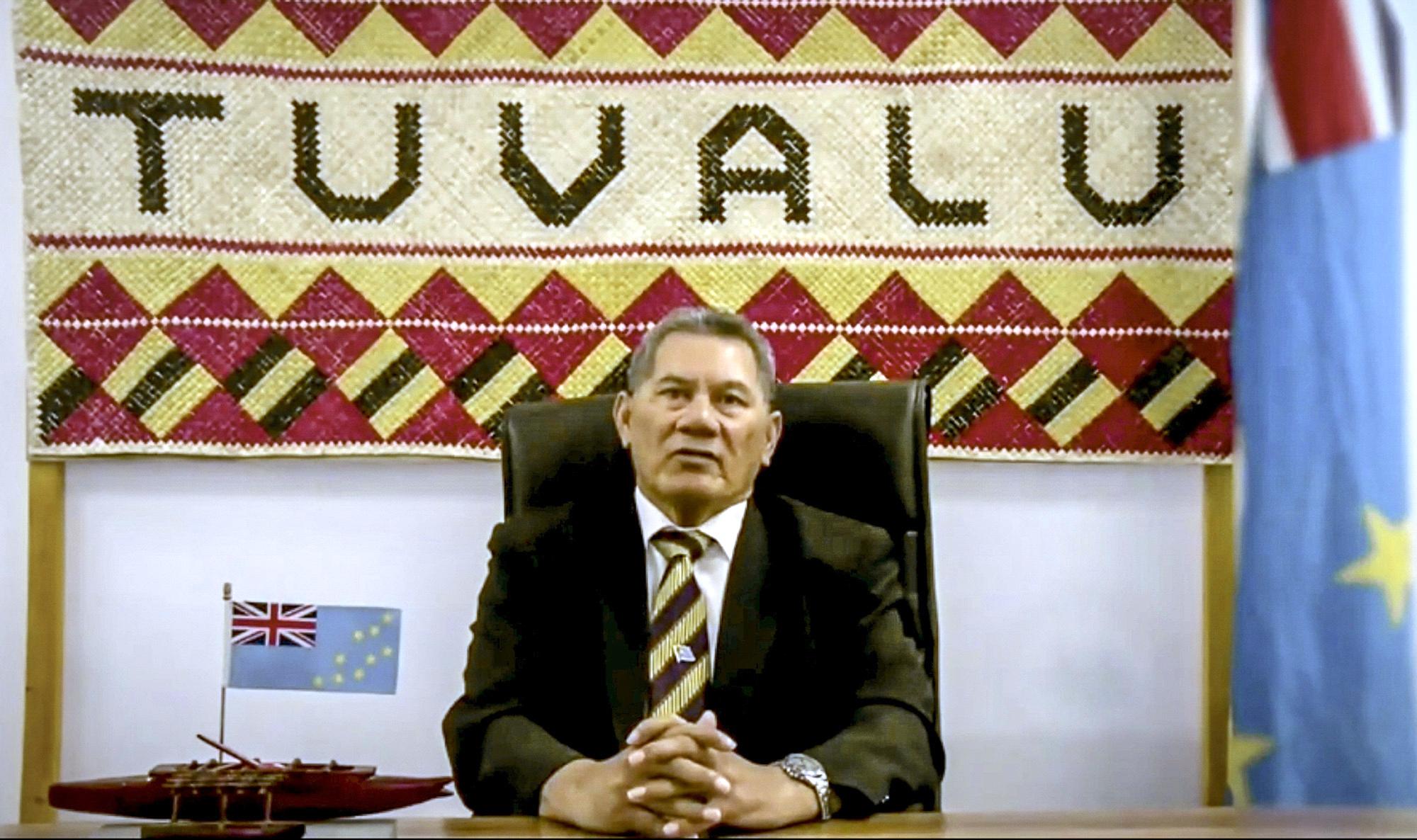 Kausea Natano, Prime Minister of Tuvalu