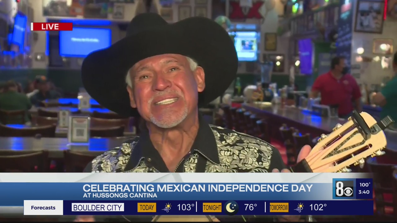 Kicking off Mexican Independence Day the right way at Hussong's Cantina - KLAS - 8 News Now