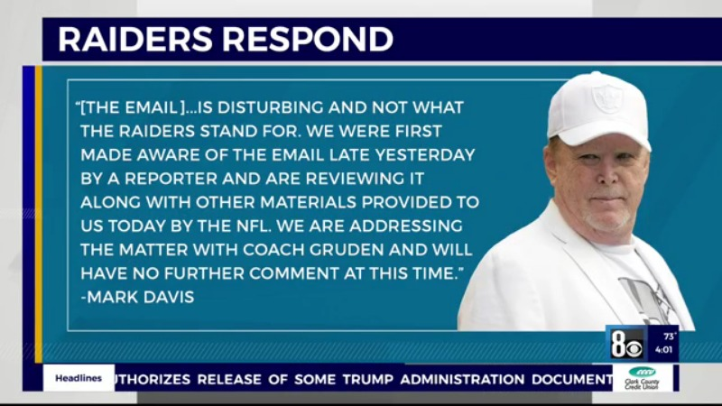 This image has an empty alt attribute; its file name is Mark-Davis-statement-on-Gruden-comment.jpg