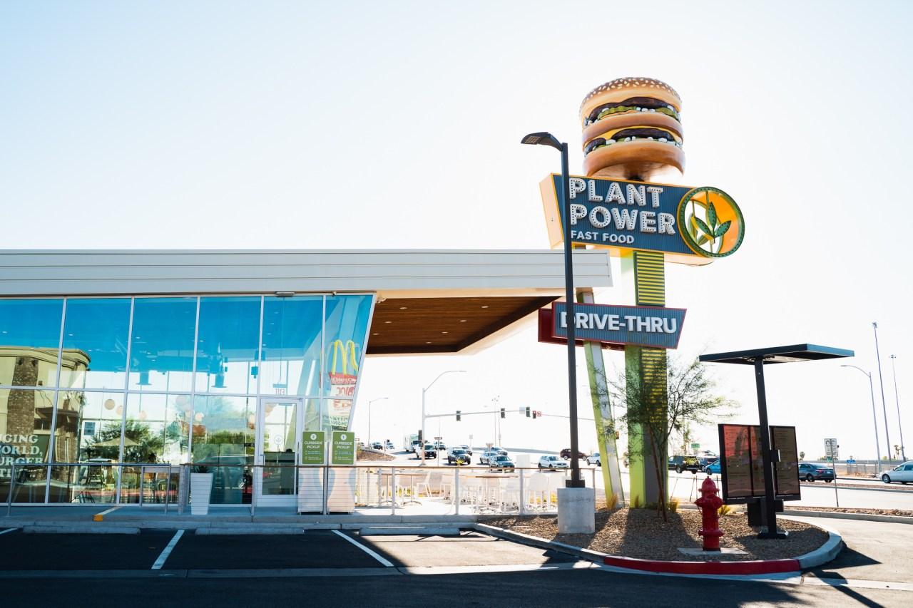 Plant-based fast food restaurant opens in Las Vegas